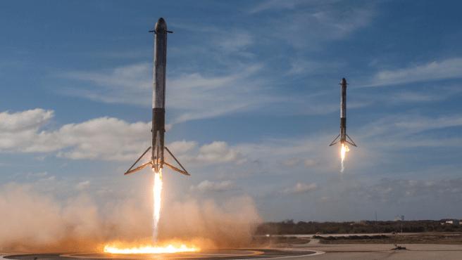 El satélite de GEC viajará a la Luna a través de un cohete Facon 9 de SpaceX.