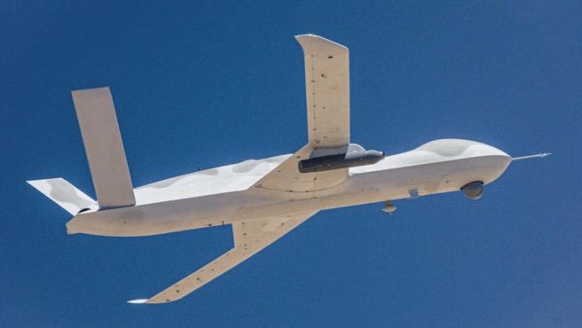 La primera prueba se realizó con un avión llamado 'Avenger'.