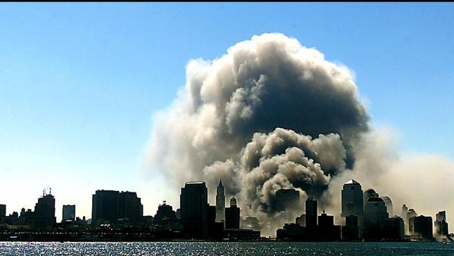 Atentado del 11S en las Torres Gemelas de Nueva York.
