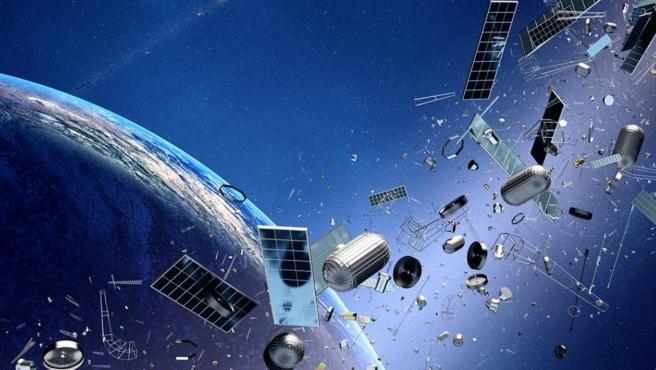 El satélite chocó contra un cohete ruso que se lanzó en 1996.