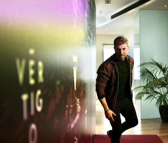Pablo Alborán presenta su disco 'Vértigo'.