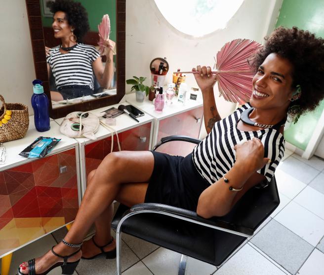 Elasarah Madalena, fotografiada en una causa de acogida de Sao Paulo.