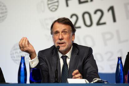 El presidente del Grupo Planeta, José Creuheras.