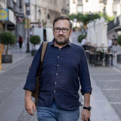 José Sánchez Peinado, militante del PSOE de Jaén. / JOSÉ MANUEL PEDROSA