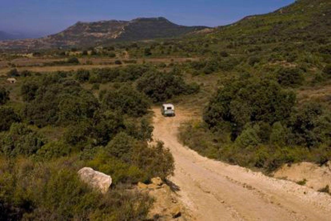 An image of the Sierra de Toloño in 2008.