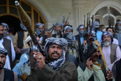 Afghan militias loyal to Ismail Khan in Herat this Friday.
