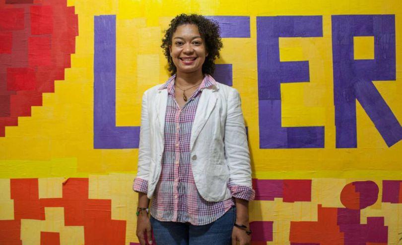Velia Vidal, en el festival Flecho 2019.