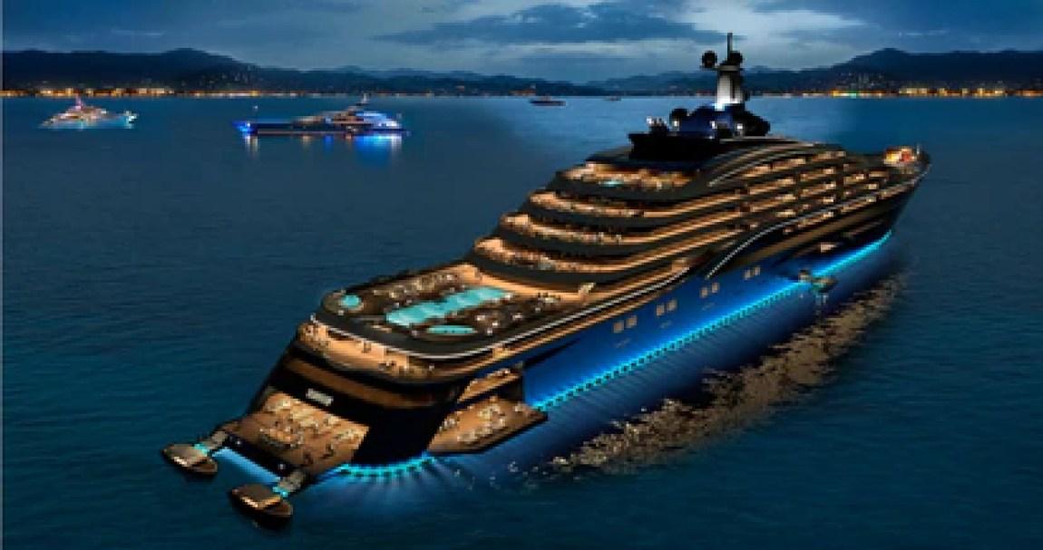 Somnio superyacht model.