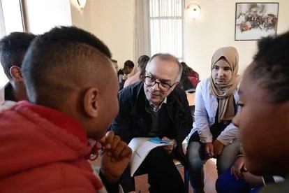 Chakib Benmusa, presidente de la a Comisión Especial del Modelo de Desarrollo, en la localidad de Azrú (Marruecos) en febrero de 2020.