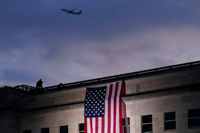 Un avión despega del aeropuerto de Washington, en septiembre de 2020.