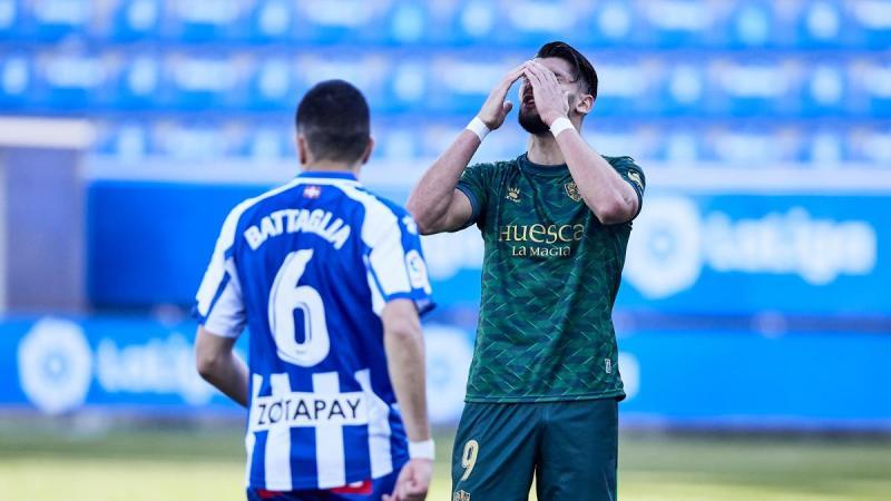A la SD Huesca se le han escapado ocho puntos por los goles en los últimos  minutos