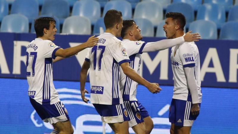 El Real Zaragoza obra un milagro y empata 2-2 ante el Girona con dos goles  en el tiempo de aumento