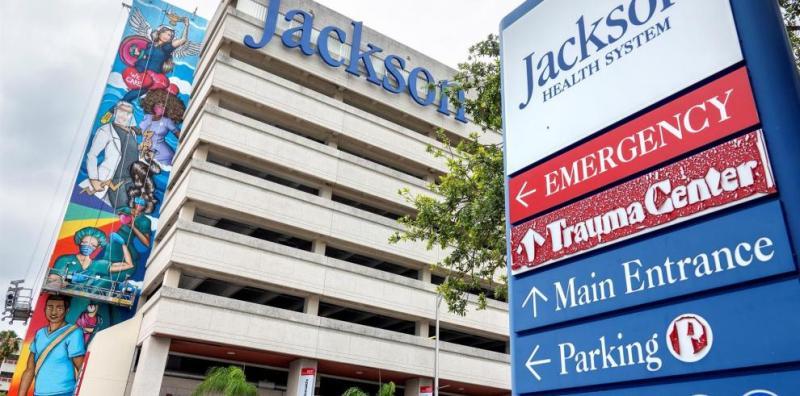 Hospital Jackson Memorial, en Miami