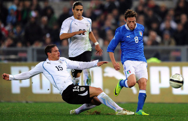 Image result for uruguay vs italia 2011