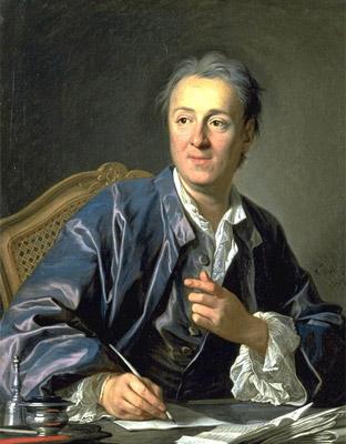 Denis Diderot visto por Louis-Michel van Loo, en 1767.