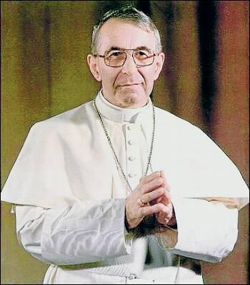 El papa Juan Pablo I, Albino Luciani.