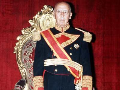 El dictador Francisco Franco, en una imagen tomada en 1975.efe