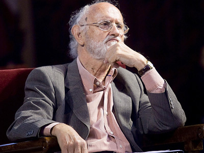 José María Mena, en un homenaje a Garzón.