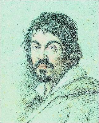 Retrato de Caravaggio, por Ottavio Leoni.