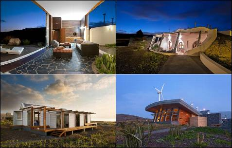 Ubicada al sur de Tenerife, la urbanización Casas Bioclimáticas Iter es un megalaboratorio de integración de energías renovables aplicadas a la arquitectura.