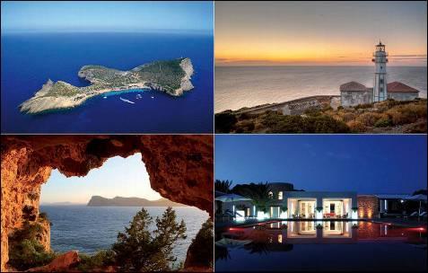 La paradisíaca Tagomago, una de las pocas y más hermosas islas privadas españolas, ofrece la posibilidad -reservada a los más pudientes- de disfrutar de una ínsula en medio del Mare Nostrum con total privacidad.