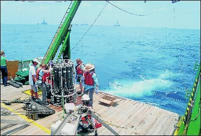 Los científicos creen que la zona más afectada está a 1.300 metros de profundidad.