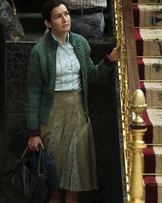 En el Congreso, la ministra Ángelez González-Sinde