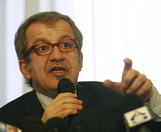 El ministro de Interior italiano, Roberto Maroni. AFP