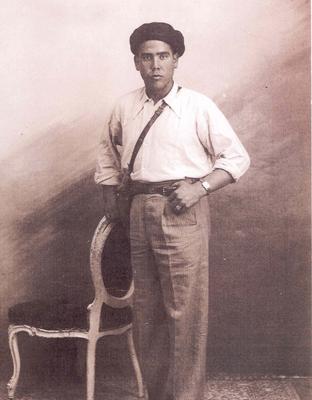 Retrato de Francisco Castillo.