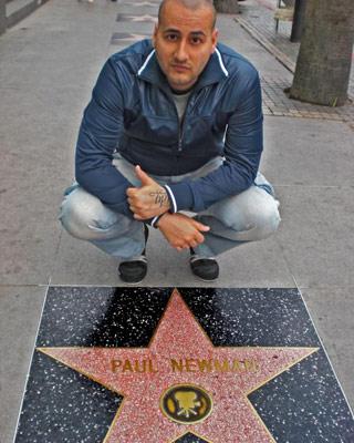 Pablo Lapiedra, en una foto de su perfil en Myspace'.