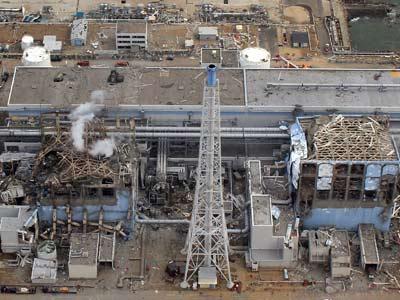 Aspecto de la central de Fukushima Daiichi el día 20 de marzo, cuando todavía se catalogaba el accidente como de nivel 5. afp