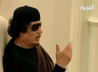El dicatdor libio se enfrenta a la orden de arresto internacional dictada por el fiscal de la CPI, Luis Moreno-Ocampo.
