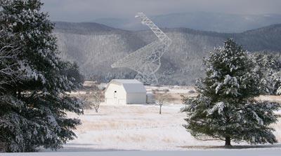 El radiotelescopio Robert C.