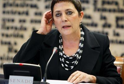 Mercedes Gallizo, secretaria general de Instituciones Penitenciarias, en una foto de archivo. EFE