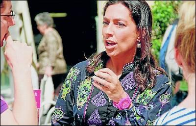 Mayte Olalla, concejal de UPyD de Granada.