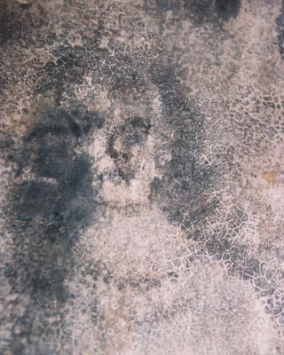 mancha en el cemento, Bélmez