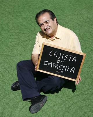 Francisco Delgado, en Madrid. -