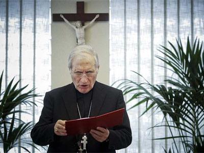 El cardenal arzobispo de Madrid, Antonio María Rouco Varela, en una imagen de archivo.EFE/Emilio Naranjo