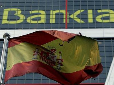 Fotografía de archivo de la sede de Bankia en las torres Kio de Madrid.EFE.