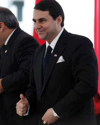 El nuevo presidente de Paraguay, Federico Franco. -