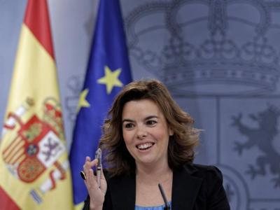 La vicepresidenta del Gobierno, Soraya Sáenz de Santamaría. EFE