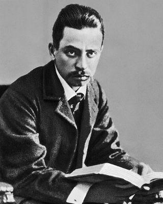 El poeta checo Rainer María Rilke.