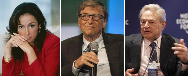 Esther Koplowitz, Bill Gates y George Soros, los mayores accionistas de FCC.