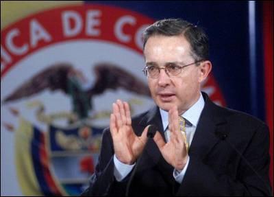 Álvaro Uribe, en una imagen de archivo. EFE