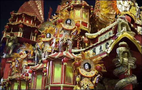 El carnaval de Brasil,uno de los más famosos y espectaculares del mundo. EFE
