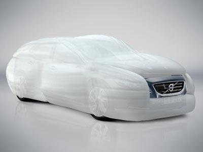 Volvo desarrolla un nuevo airbag exterior. -EP