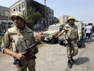 La práctica totalidad de las armas vendidas a Egipto fueron destinadas a las Fuerzas Armadas del país.