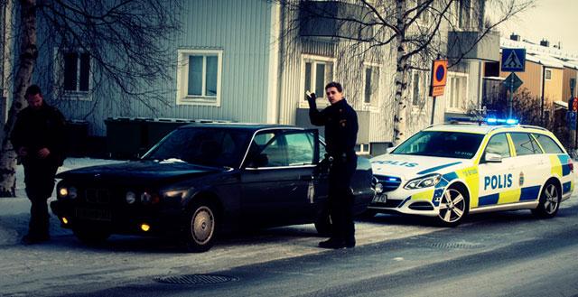 Uno de los múltiples registros policiales realizados al periodista en cuestión. | PÚBLICO