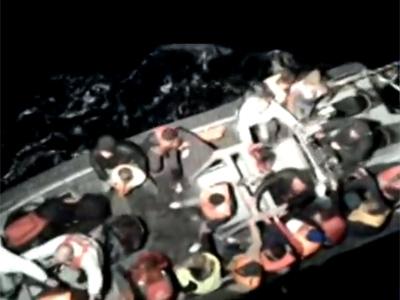 Imagen del rescate ofrecida por RTVE.