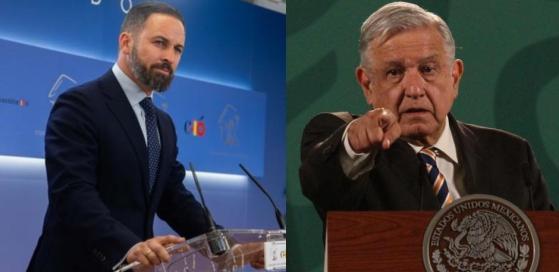 Líder de VOX responde a AMLO: Quienes protegen narcos no impedirán nuestra  causa